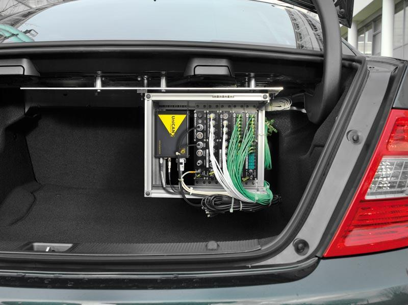 Application: CSM measurement technology in the trunk