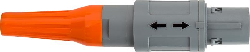 The double-insulated multi-channel cables with fully insulated plastic connectors play an important role in the system