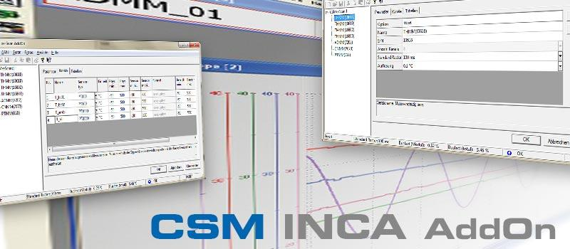 CSM INCA AddOn Program Interface